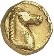 1/10 Stater (Carthage) – obverse