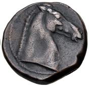 Æ Shekel (Carthage; No Symbol) – reverse
