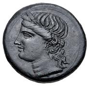 Trishekel (Carthage) – obverse