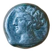 AE20 (Carthage) – obverse
