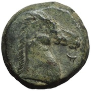 Æ Shekel (Carthage; Punic Letter) – reverse