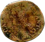 1 Soldo - Carlo II – obverse