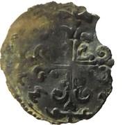 Grosso au mont Olympe et à la croix fleurdelisée - Ferdinand de Gonzague – reverse