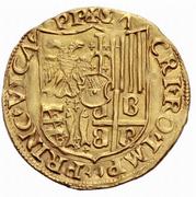 2 Ducat - Guglielmo IX Paleologo -  reverse