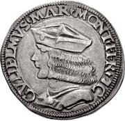 1 Testone - Guglielmo VII – obverse