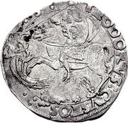1 Cornuto - Guglielmo IX Paleologo – reverse