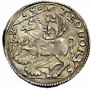 1 Cavallotto - Guglielmo IX Paleologo – reverse