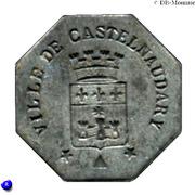25 Centimes (Castelnaudary) – obverse