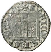 Dinero - Enrique II (Toledo) – obverse