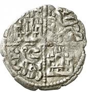 Dinero - Alfonso X (six lines;mark Greek cross) – reverse