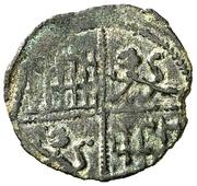 Obolo - Alfonso X (six lines;no mark) – reverse