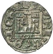 Dinero - Enrique II (Zamora) – obverse