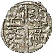 Dinero - Alfonso X – reverse