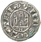 Dinero - Alfonso X (Murcia) – obverse