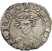 Cuartillo - Alfonso de Avila (pretender;Segovia) – obverse