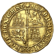Dobla - Alfonso de Avila (pretender,Avila) – reverse