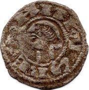 Dinero - Alfonso I de Aragon (Toledo) – obverse