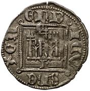 Dinero - Enrique II (Leon) – obverse