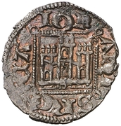 Dinero - Juan I (Seville) – obverse