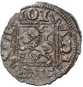 Dinero - Juan I (Seville) – reverse