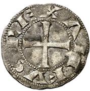 Dinero - Alfonso VII (Segovia) – obverse