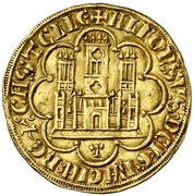 Dobla - Alfonso X (Toledo) – obverse