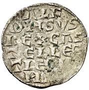 Dinero - Alfonso X (six lines,mark diamond) – obverse