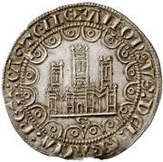 ½ Maravedi - Alfonso X (Seville) – obverse