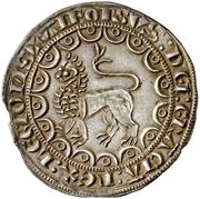 ½ Maravedi - Alfonso X (Seville) – reverse