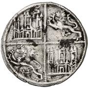 ¼ Maravedi - Alfonso X (Seville) – reverse