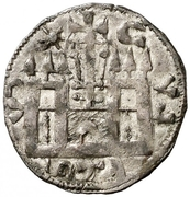 Dinero - Alfonso VIII (Calahorra) – reverse