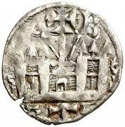 Dinero - Alfonso VIII (Burgos) – reverse