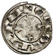 Dinero - Alfonso VIII (Segovia) – reverse