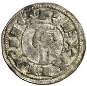 Dinero - Alfonso VIII (Toledo) – obverse