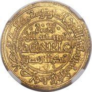 Morabetino - Enrique I (Toledo) – obverse