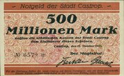500,000,000 Mark – obverse