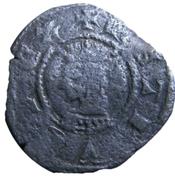 Dinero - Pedro IV (Barcelona) – obverse