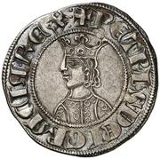 Croat - Pedro III (Barcelona) – obverse