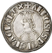Croat - Alfonso III (Barcelona) – obverse