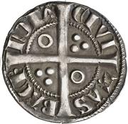 ½ Croat - Alfonso III (Barcelona) – reverse