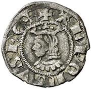 Dinero - Alfonso III – obverse