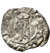 Obolo - Pedro IV (Barcelona) – obverse