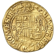 1 Principado - Fernando II (Barcelona) -  reverse