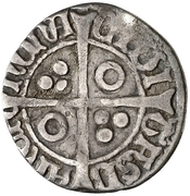 ½ Croat - Fernando II (rude portrait) -  obverse