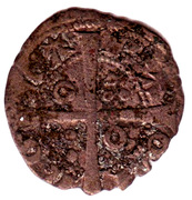Dinero - Jaime II – reverse