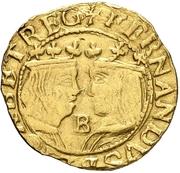 ½ Trentin - Felipe IV (Barcelona) – obverse