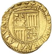 ½ Trentin - Felipe IV (Barcelona) – reverse