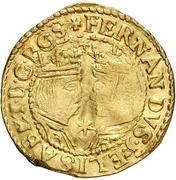 ½ Trentin - Felipe IV (Barcelona,star) – obverse