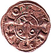 Obolo - Alfonso I – obverse