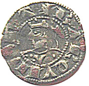 Dinero - Jaime II – obverse